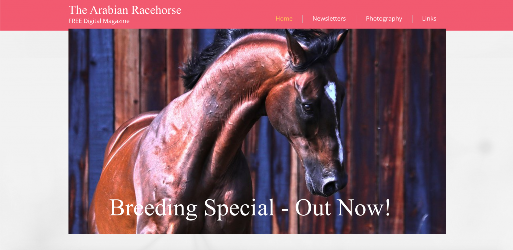 The Arabian Racehorse Website